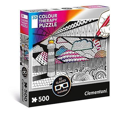 puzzle 3D Colour Therapy