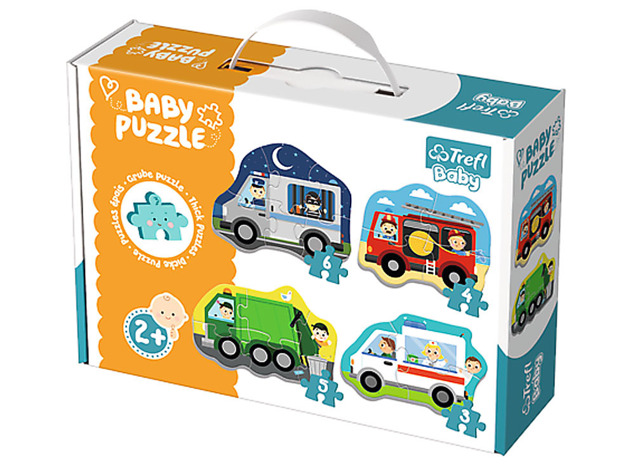 puzzle Baby Classic Pojazdy