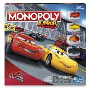 Gra MONOPOLY Junior Cars3 HASBRO