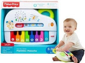 Interaktywne pianinko malucha GFK02 Fisher Price