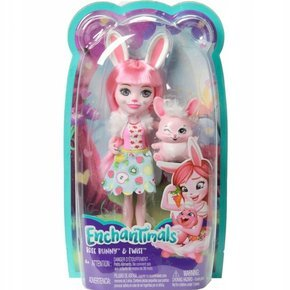 LALKA Bree Bunny + Twist ENCHANTIMALS Mattel FXM73
