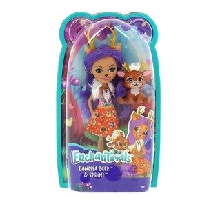 LALKA Danessa Deer + Sprint ENCHANTIMALS FXM75