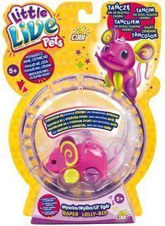 Little Live Pets Myszka s.3 Little Live Pets raper