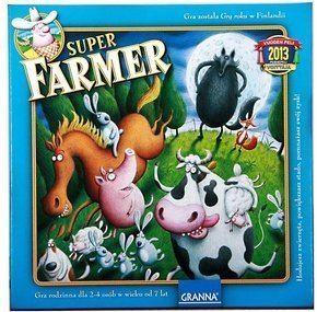 Superfarmer Gra Rodzinna Super Farmer DeLux 00086
