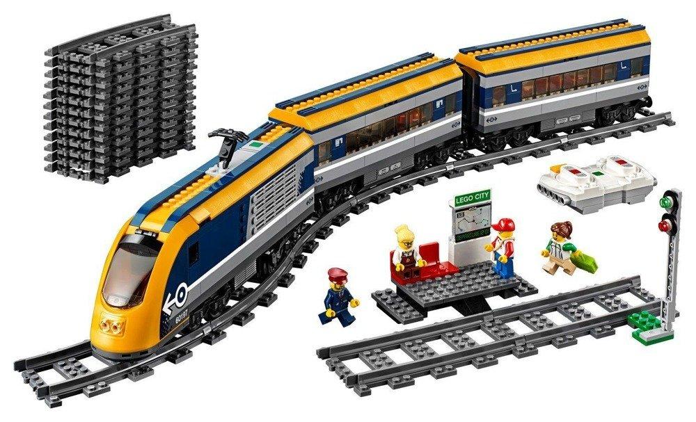 Klocki Pociąg Pasażerski Lego City 60197 Lego W Sklep Odidodi