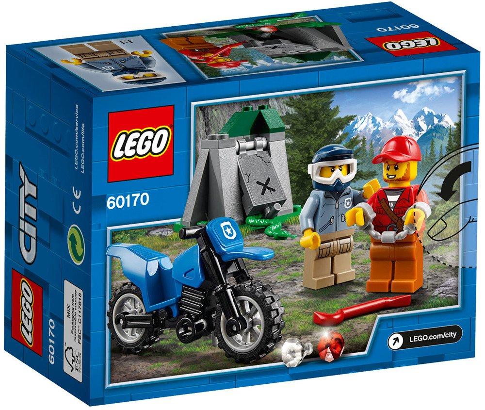 Pościg Za Terenówką Lego City 60170 Policja Lego W Sklep Odidodi
