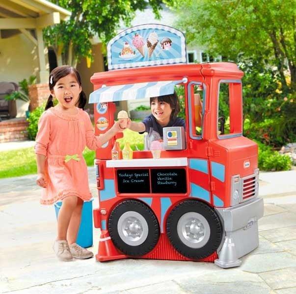 Little Tikes Kuchnia Food Truck Lodziarnia 2w1