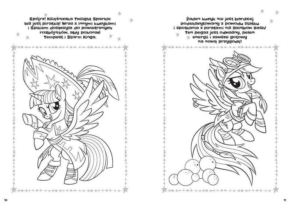 My Little Pony The Movie Wesola Kolorowanka Sklep Odidodi Pl