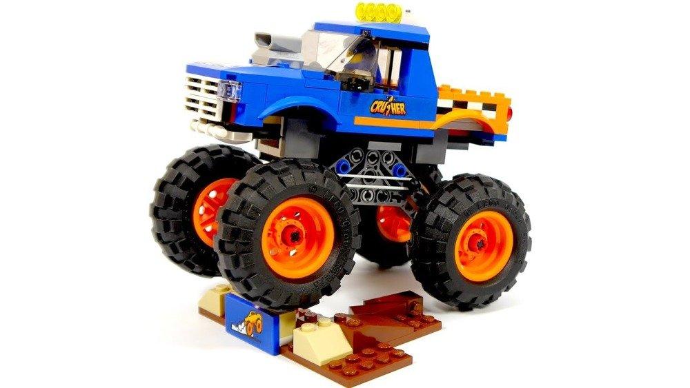 Monster truck LEGO CITY 60180 ☛ Sklep OdiDodi.pl