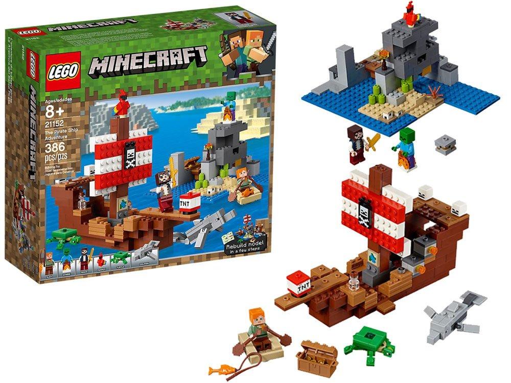 Przygoda Na Statku Pirackim Minecraft 21152 Lego Lego W Sklep Odidodi