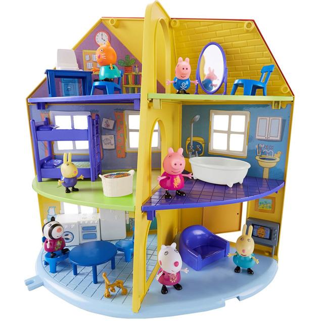 Tm Toys Zestaw świnka Peppa Domek Rodzinny Pep06384